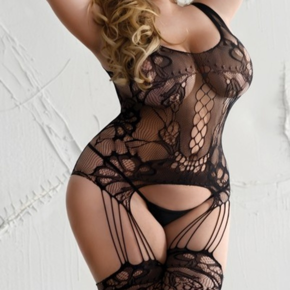 312f19563 ❤QUEEN SIZE BODYSTOCKING PLUS SIZE LINGERIE